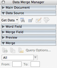 data merge manager
